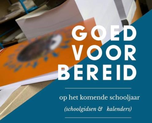 printen kopiëren schoolgids kalender