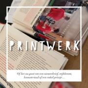 printwerk nieuwsbrief wijkkrant presentatie lesboek