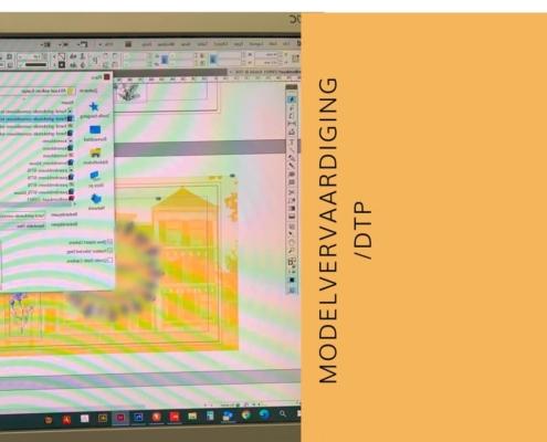 modelvervaardiging DTP drukproef opmaak vormgeving
