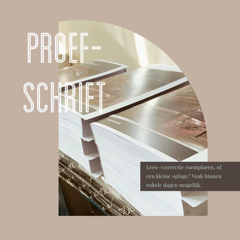 proefschrift thesis printen